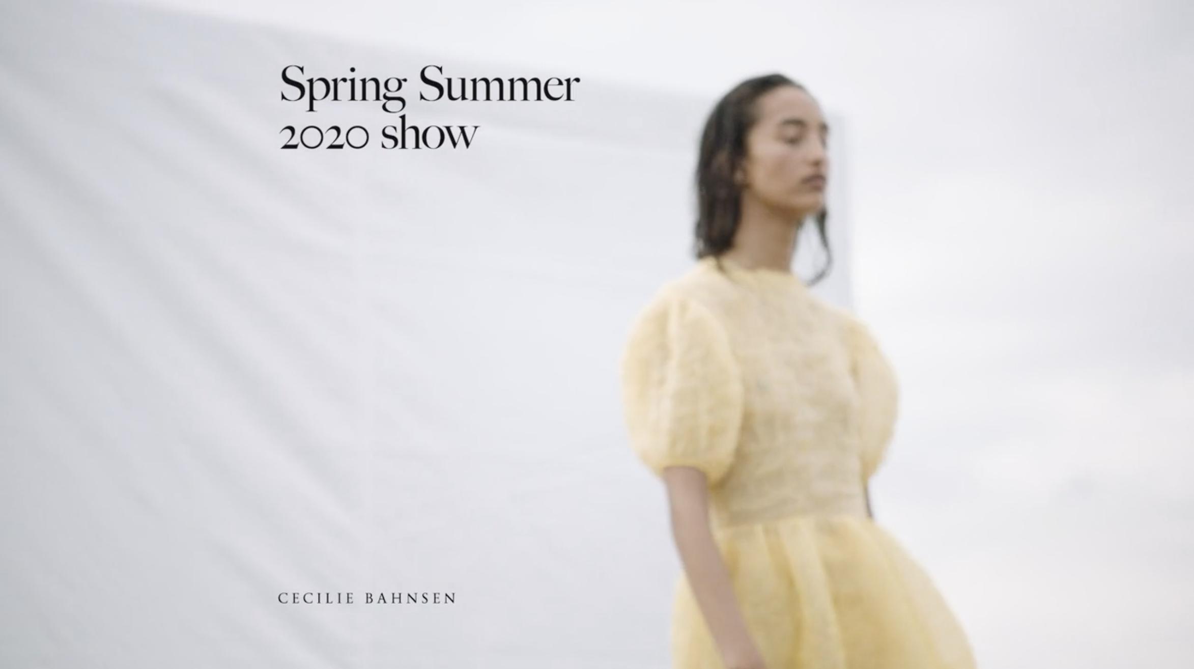 Cecilie Bahnsen SS20 Video